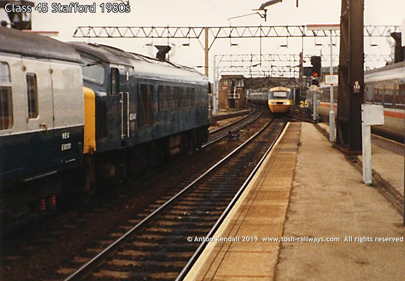 Class 45 Stafford 1980s