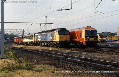 47467 Crewe Diesel 120896