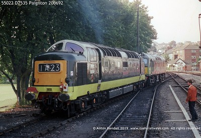 55022 D7535 Paignton 200692