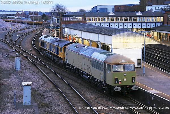 69002; 66706; Eastleigh; 150321
