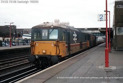 73103 73108 Eastleigh 190293
