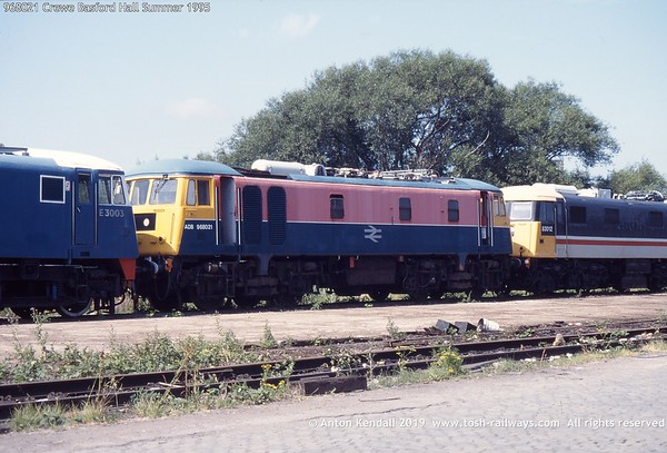 ADB968021 Crewe Basford Hall Summer 1995