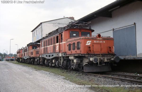 1020012-9 Linz Frachtbahnhof