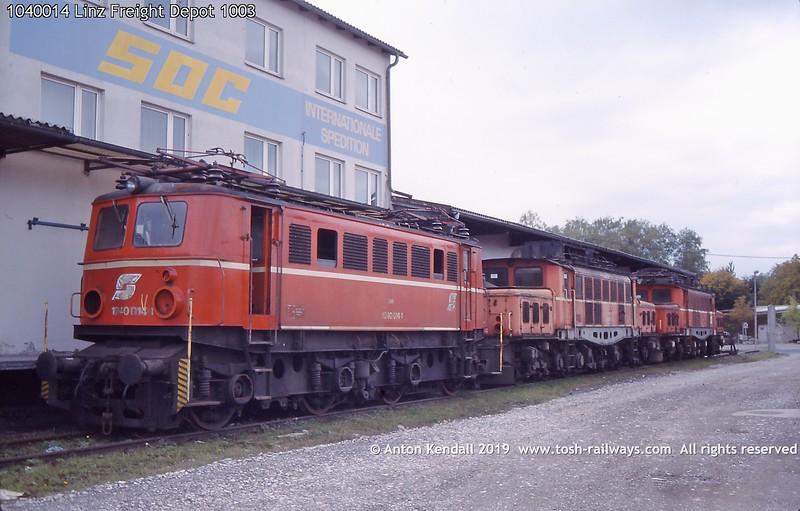 1040014 Linz Freight Depot 1003