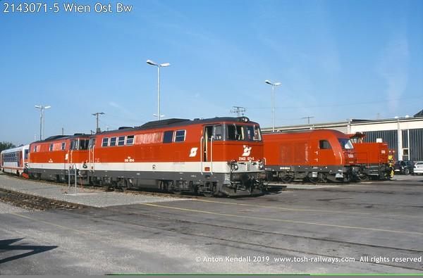 2143071-5 Wien Ost Bw