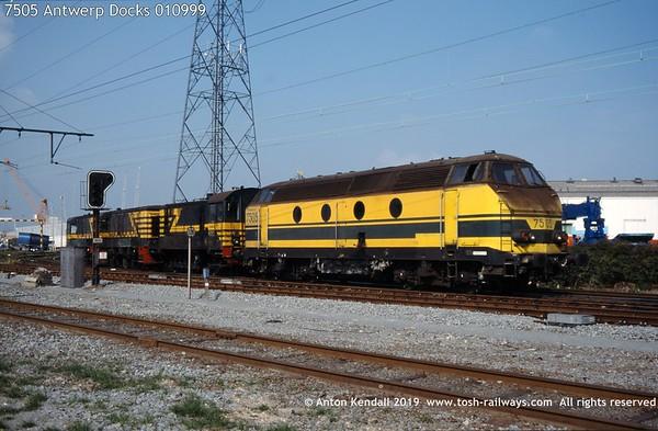 7505 Antwerp Docks 010999