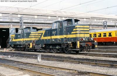 8047 8011 Bruxelles Schaarbeek Depot 0796