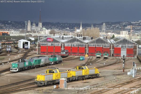 60172 60162 Rouen Sotteville Depot 020112
