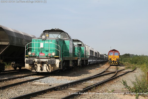 60040 60124 Caffiers sidings 040818 (2)