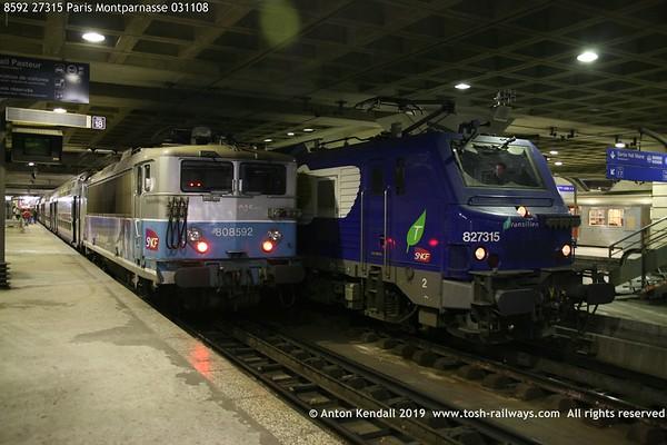8592 27315 Paris Montparnasse 031108