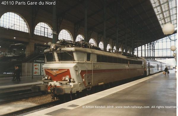 40110 Paris Gare du Nord