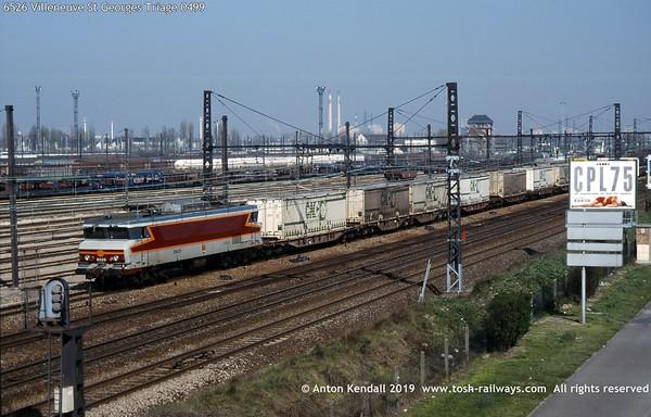 6526 Villeneuve St Georges Triage 0499