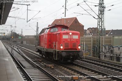 212274-5 Hannover Linden 140111
