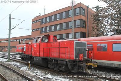 214017-6 Nuernberg Hbf 070111