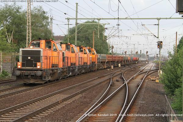 214025-9 214009-3 214024-2 214001-0 Hannover Linden