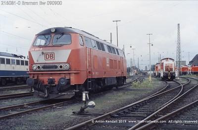 216081-0 Bremen Bw 090900