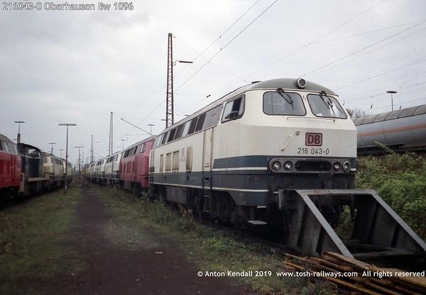 216043-0 Oberhausen Bw 1096