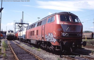 216149-5 216114-9 Oberhausen West Bw 0699