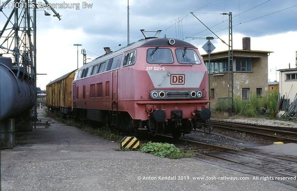 217021-5 Regensburg Bw