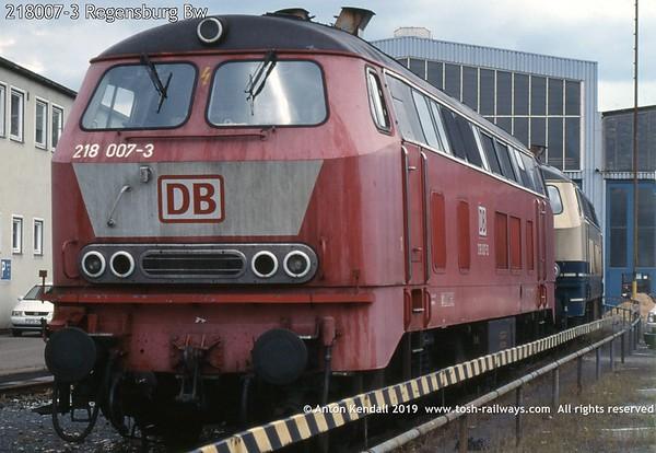 218007-3 Regensburg Bw