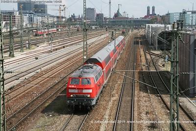 218405-9 Muenchen Donnersbergerbruecke 140408