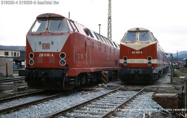 219030-4 219029-6 Saalfeld Bw