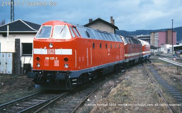 219137-7 Saalfeld Bw