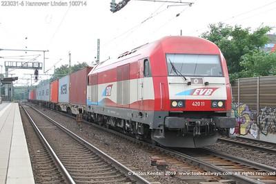223031-6 Hannover Linden 100714