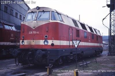 228751-4 Saalfeld Bw