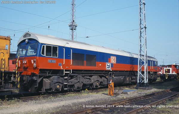 BR British Railways UK Great Britain photo diesel locomotive class 59 gm daddy ying db germany 259 001 003 heavy haul yeoman highlander baureihe