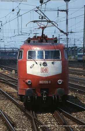 103135-0 Muenchen Donnersbergerbruecke