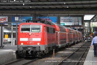 111067-5 Muenchen Hbf 120714