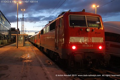 111043-6 Muenchen Hbf 100114