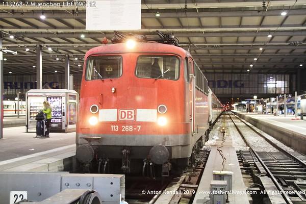 113268-7 Muenchen Hbf 090112