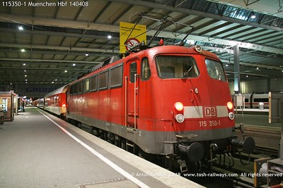 115350-1 Muenchen Hbf 140408