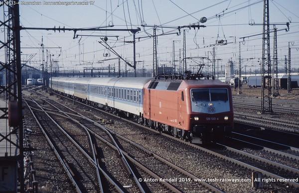 DB German Railways Deutsche Bahn Baureihe 120 Elok Foto Bild Deutschland Fernverkehr Regio