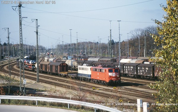 150019-8 Muenchen Nord Rbf 96