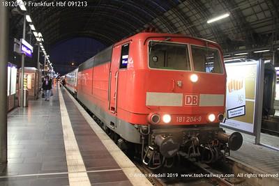 181204-9 Frankfurt Hbf 091213