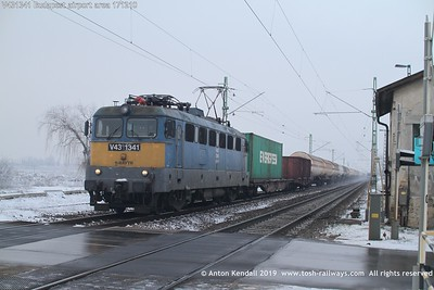 V431341 Budapest airport area 171210
