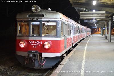 EN57-659 Kedzierzyn Kozle 290914