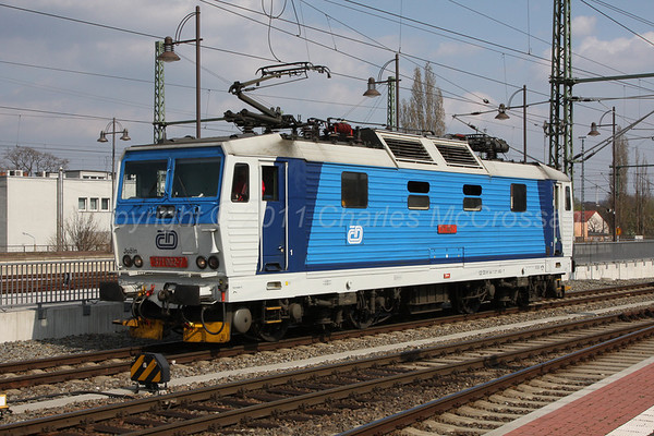 Czechoslovakia Electric Locomotives
