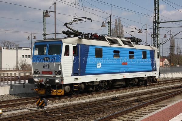 Czechoslovakia Electric Locomotives