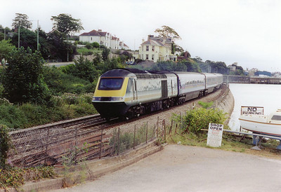 """43148 fronts the down """"Mayflower"""" service to Paddington. 1C12 is booked to leave Paddington at 0833. The service is named after the ship that the Pilgrim Fathers sailed from Plymouth to America in."""