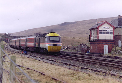43079 is the rear powercar of the Penzance to Glasgow working.