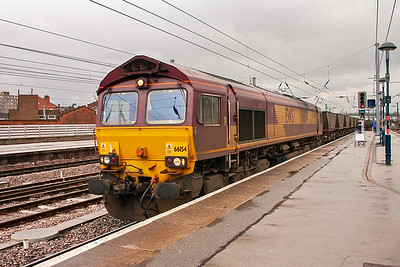 66154 works 6G82 Worksop Yard to Hull Coal Terminal and I'm guessing it is an empty working but can't be sure.