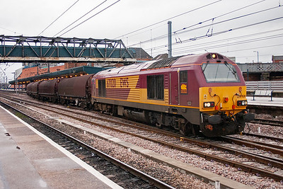 67020 is an unusual choice of motive power for an enterprise working but 67020 has been rostered to 6D54 Hull to Belmont Yard.