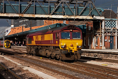 Another light engine is recorded this time heading south, 66081's journey details are not known.