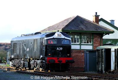 Downpatrick Railway. 6th December 2009