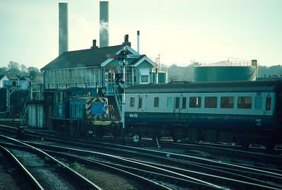 03397 shunting Stock at Norwich 24/11/84
