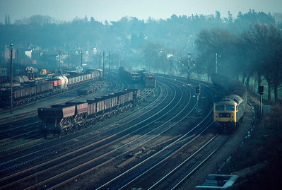47 579 leaving Ipswich with 13.30 Liverpool St Norwich 18/2/84